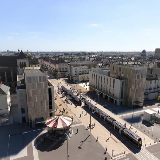 Construction de deux hôtels haut de gamme dans le nouveau quartier Porte de Loire à Tours